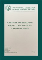 No. 205 Surrender & Regrant of Agricultural tenancies: A Review of Issues
