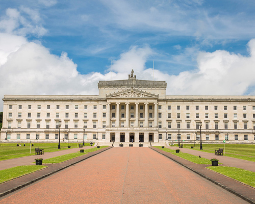 Northern Ireland Parliament Buildings at Stormont Castle