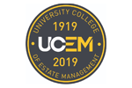 University College of Estate Management (UCEM) logo